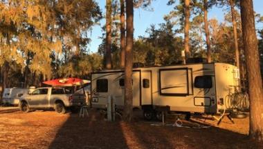 Camp morning
