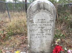 florida trail headstone