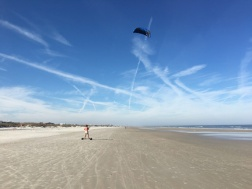 Crescent Beach Kite Fun