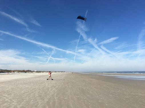 Crescent Beach Kite Fun