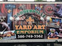 BB yard art