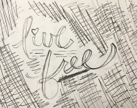 Live Free cut