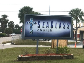 SeaGlass Sign