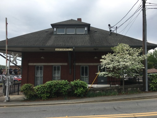 Cartersville train station