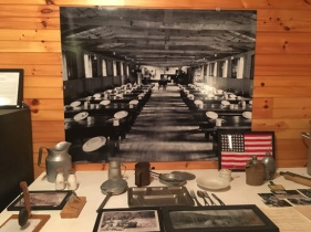 CCC mess hall. The boys ate well, about 4,000 calories a day.