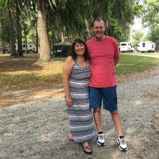 Kim and Phil (retired military), full timers