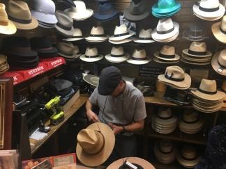 St Augustine hat shop