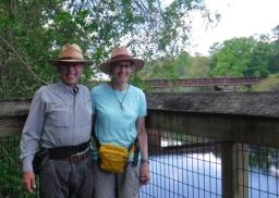 Suwannee State Park, Dan & Deb