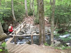 Log walk