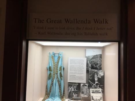 The Great Wallenda crossed Tallulah Gorge.