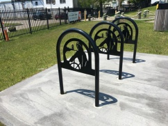 Gloucester bike rack