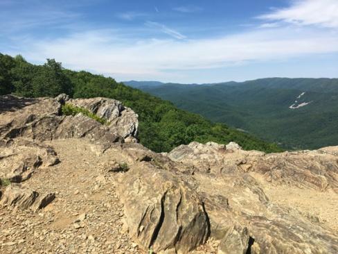 Humpback Rocks Trail 09