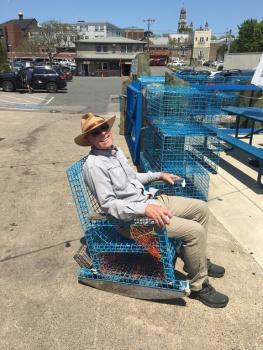 Lovin' the lobster chair