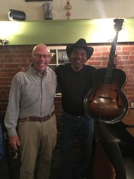 "Joe Pettus Performs at ""The Green Leaf"" in Waynesboro"