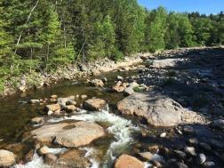 Upstream of Glen Ellis Falls
