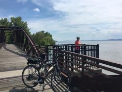 Burlington, VT bike ride
