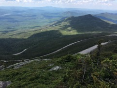 Drive up to Whiteface Mountain Observatory - looking down