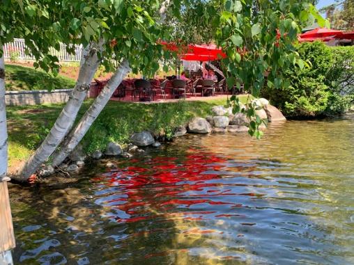 Lake Placid Debs patio