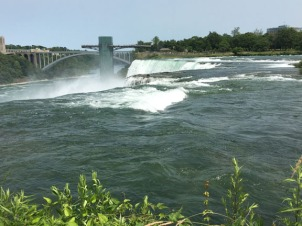 Niagara Falls, U.S. side. Observation tower