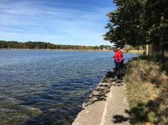 Pokagon State Park - very clear lake