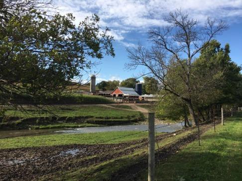Farm along the Trout Run Trail