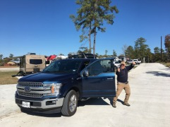 Larry and his new truck
