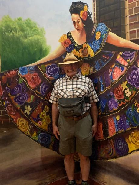 Tourist in Progreso, Mexico