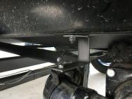 Dump valve bracket