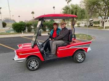 I loved this golf cart
