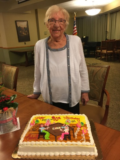 Mom - 90th birthday